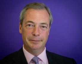 UK Independence leader Nigel Farage