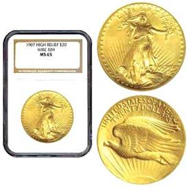 St. Gaudens Gold Coins