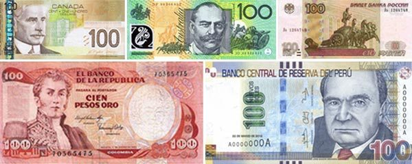 5 World Currencies That Are Closely Tied to Commodities