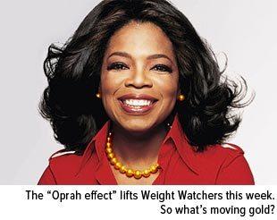 Oprah bought 10 percent of weight watchers