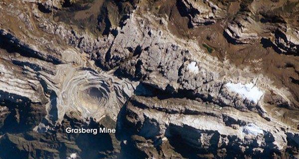 Grasberg Gold Mine