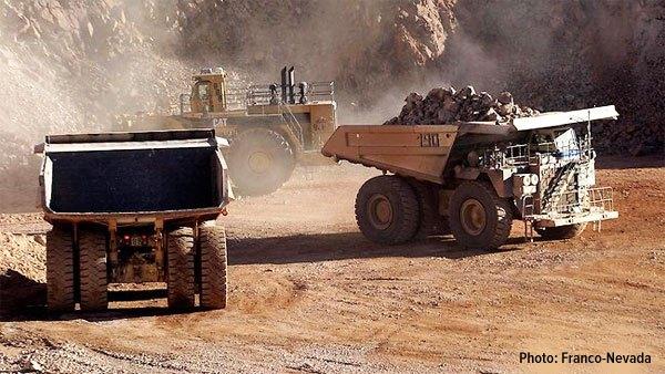 franco nevada royalty companies big truck